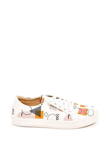 Noosy Sneakers crème/meerkleurig