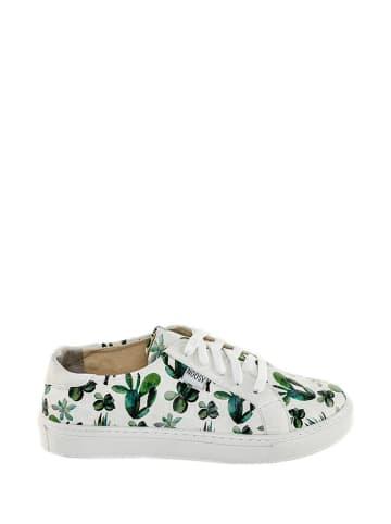 Noosy Sneakers wit/groen