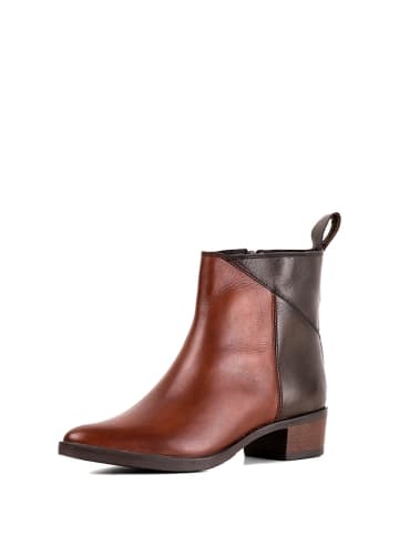 REDFOOT Leder-Boots in Braun