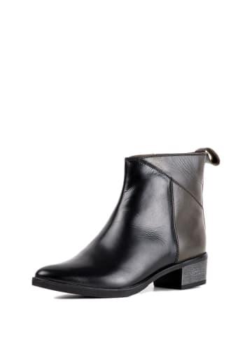 REDFOOT Leder-Boots in Schwarz
