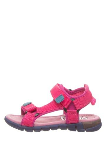 Pio Sandały w kolorze różowym