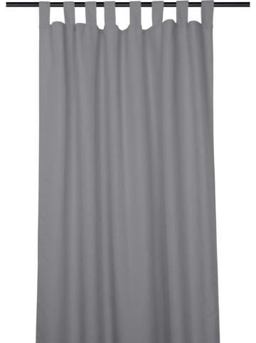 """STOF France Vorhang """"Jackson"""" in Anthrazit - (L)260 x (B)135 cm"""