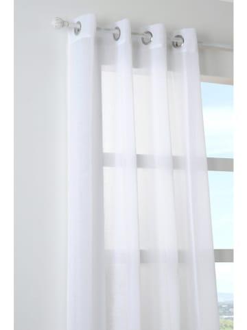 STOF France Zasłona w kolorze białym - 260 x 140 cm