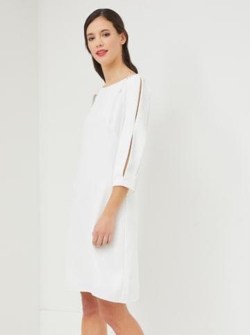 Sandro Ferrone Sukienka w kolorze białym