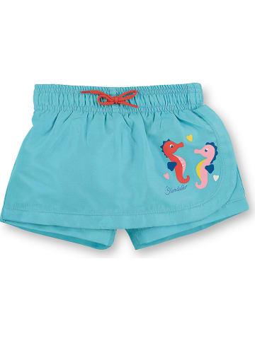 Sterntaler Spodnie-spódnica w kolorze błękitnym do pływania