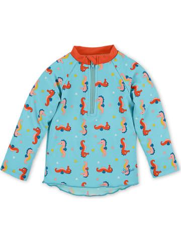 Sterntaler Koszulka kąpielowa w kolorze błękitnym