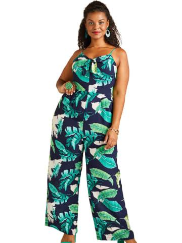 Yumi Jumpsuit donkerblauw/groen