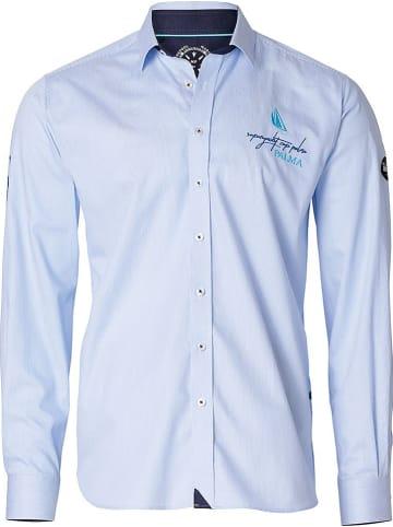 "MARINEPOOL Koszula ""23. Sycp"" - Comfort fit - w kolorze błękitnym"