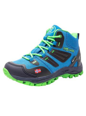 "Trollkids Trekkingschoenen ""Rondane Hiker Mid"" blauw"