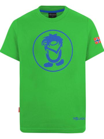 """Trollkids Functioneel shirt """"Troll"""" groen"""