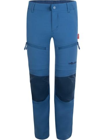 "Trollkids Afritstrekkingbroek ""Nordfjord"" blauw"