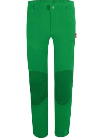 """Trollkids Spodnie funkcyjne """"Hammerfest Pro"""" - Slim fit - w kolorze zielonym"""