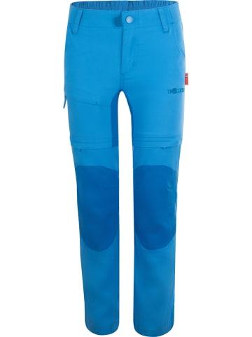"""Trollkids Zipp-Off-Trekkinghose """"Arendal XT"""" in Blau"""