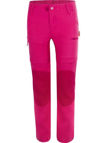 "Trollkids Zipp-Off-Trekkinghose ""Arendal XT"" in Pink"