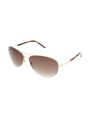 Marc Jacobs Damen-Sonnenbrille in Gold/ Braun