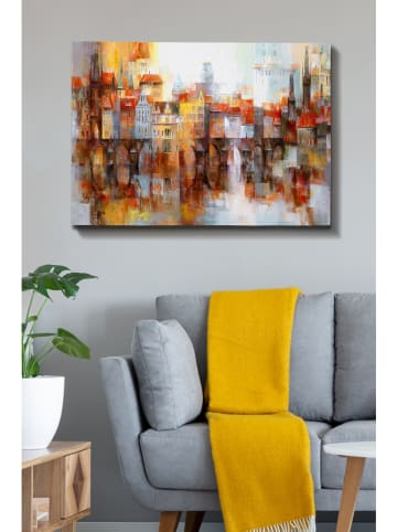 "ABERTO DESIGN Kunstdruk op canvas ""Kanvas Tablo 190"" - (B)100 x (H)70 cm"