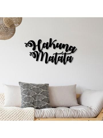 "ABERTO DESIGN Wanddekor ""Hakuna Matata"" - (B)70 x (H)35 cm"