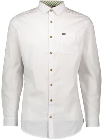 """Spieth & Wensky Trachtenhemd """"Kessel"""" in Weiß"""
