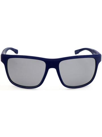 Hugo Boss Herren-Sonnenbrille in Dunkelblau/ Grau