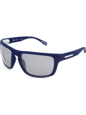 Hugo Boss Herenzonnebril blauw/grijs