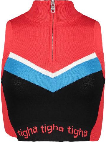 """Tigha Top """"Caramia Racing"""" w kolorze czerwonym"""