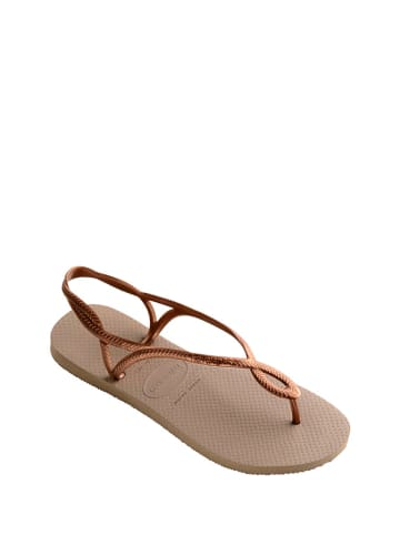 Havaianas Sandały w kolorze beżowym