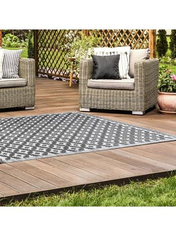 Garden Spirit Indoor-/outdoortapijt grijs - (L)180 x (B)120 cm