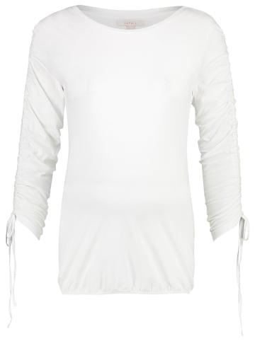 ESPRIT Koszulka ciążowa w kolorze białym