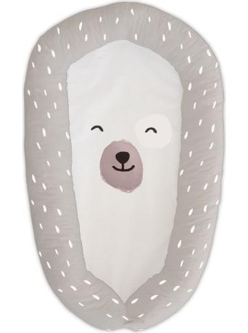 "Tanuki Babynest ""Smiling Bear"" in Beige - (L)90 x (B)48 cm"
