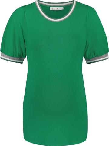 Queen Mum Zwangerschapsshirt groen