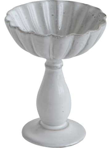 Bloomingville Servierschale in Weiß - (H)13 x Ø 9 cm