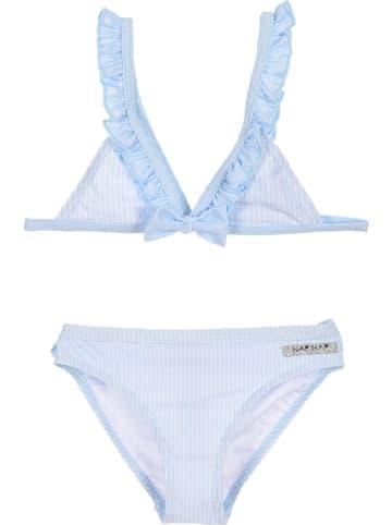 Naf Naf Bikini w kolorze błękitno-białym