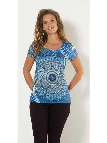 KÉAWA Koszulka w kolorze niebieskim
