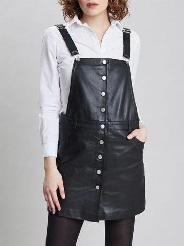 Isaco und Kawa Skórzana spódnica w kolorze czarnym