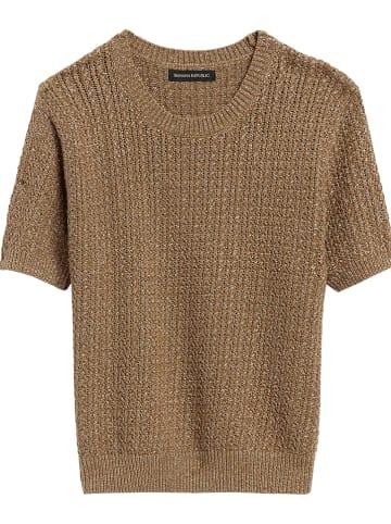 Banana Republic Sweter w kolorze brązowym
