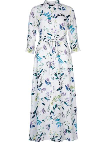 Banana Republic Sukienka w kolorze białym ze wzorem