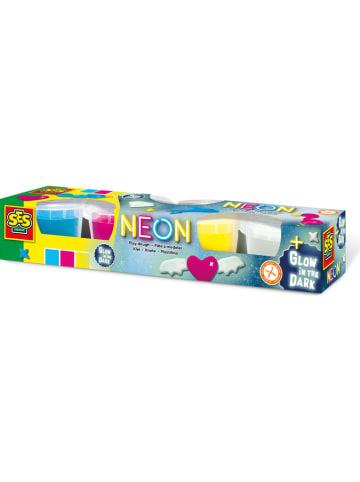 SES Neonowa plastelina - 2+