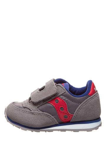 """Saucony Leder-Sneakers """"Baby Jazz"""" in Grau"""