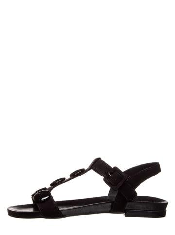 Otto Kern Leren sandalen zwart