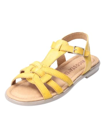 Ricosta Leder-Sandalen in Gelb
