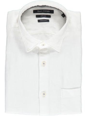 Marc O'Polo DENIM Linnen blouse - regular fit - wit
