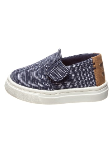 """TOMS Instappers """"Luca"""" donkerblauw"""