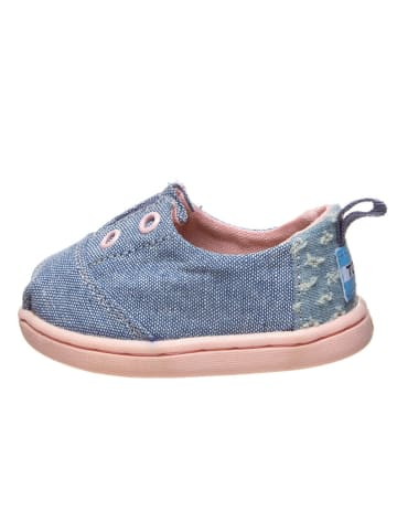 """TOMS Instappers """"Lumin"""" blauw"""