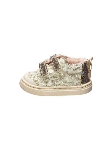 "TOMS Sneakers ""Lenny Mid"" goudkleurig/crème"