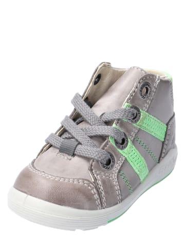 """PEPINO Leder-Sneakers """"Danny"""" in Grau"""