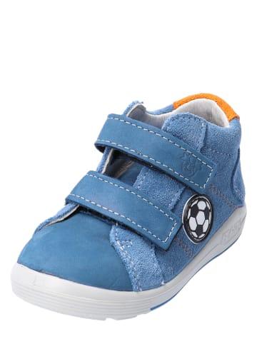"""PEPINO Leder-Sneakers """"Linu"""" in Blau"""