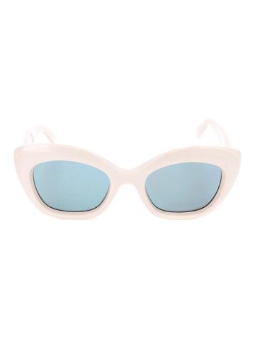Max Mara Damen-Sonnenbrille in Weiß/ Blau