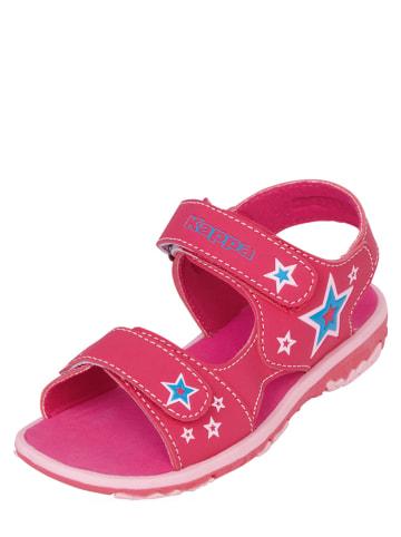 "Kappa Sandalen ""Starway K"" in Pink"