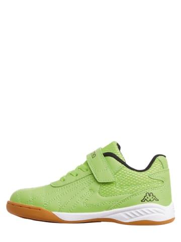"""Kappa Buty sportowe """"Furbo K"""" w kolorze zielonym"""