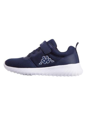 "Kappa Sneakers ""Ces K"" donkerblauw/wit"